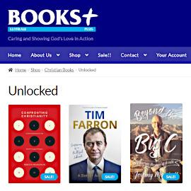 BOOKS Plus Unlocked books
