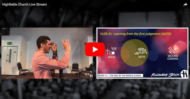 Highfields Live Stream 20200322