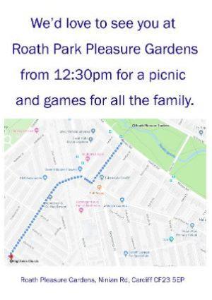 Roath Park Directions
