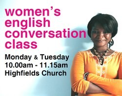 Women's English conversation class
