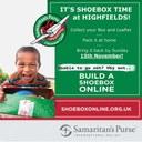It's shoebox time
