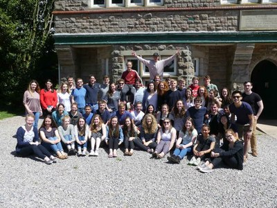Student Group Photo - Weekend Away 2017