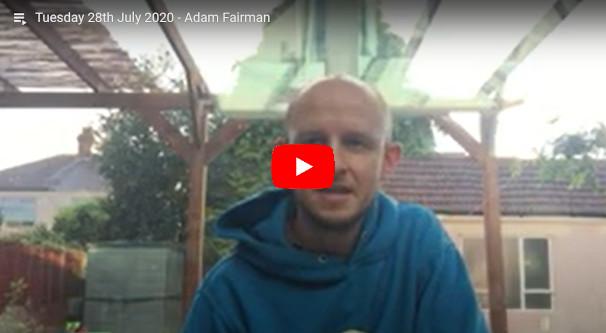 Daily Devotional Adam Fairman