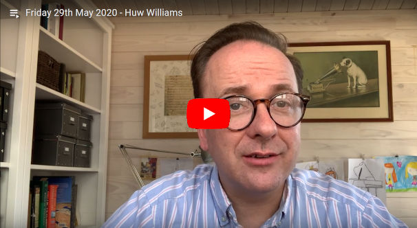 Daily Devotional Huw Williams