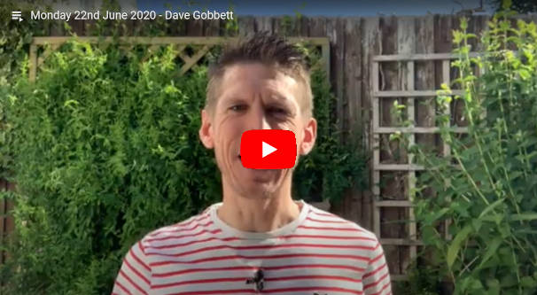 Daily Devotional Dave Gobbett
