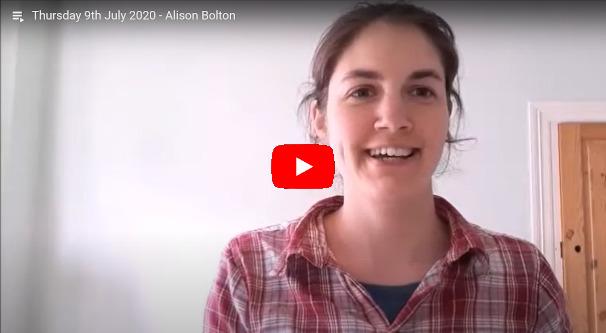 Daily Devotional Alison Bolton