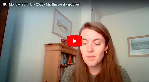 Daily Devotional Martha Leyshon Jones