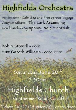 Highfields Orchestra - Concert June 2015