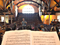 Concert Rehearsal