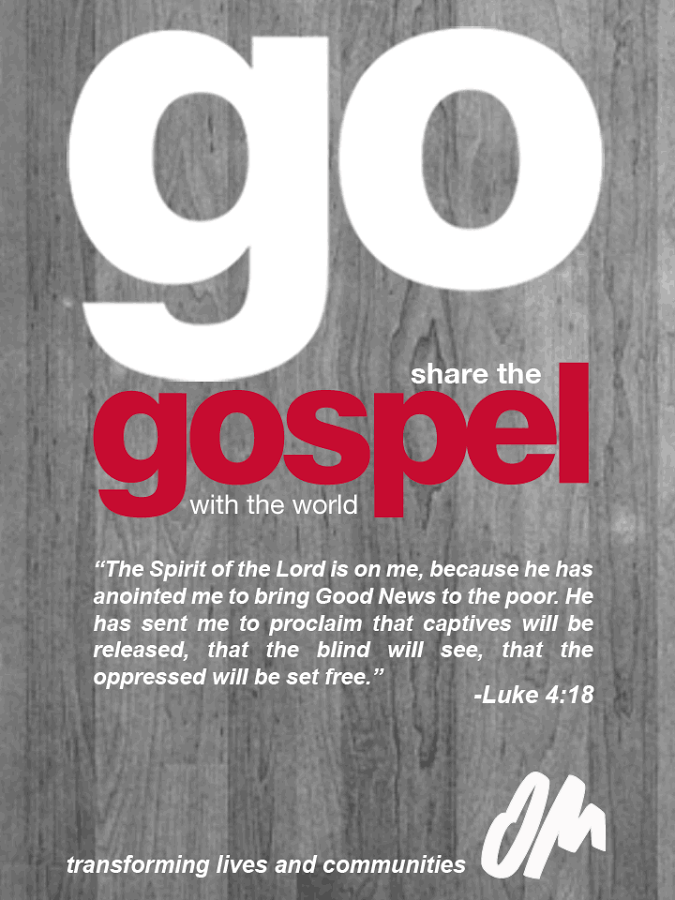 Go Share the Gospel