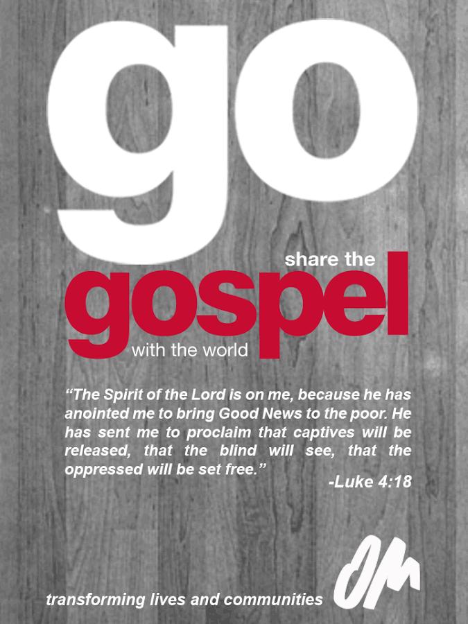 Go Share the Gospel